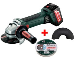Akku-Winkelschleifer W 18 LTX 125 Quick Set Metabo