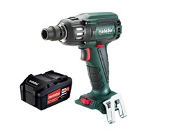 Aktion 18: Akku-Schlagschrauber SSW18 LTX 400BL Quick Pick+Mix + Akku-Pack 18 V 5,2 Ah Li-Power Metabo
