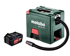 Aktion 20: Akku-Sauger AS 18 L PC Metabo +  Akku-Pack 18 V 5,2 Ah Li-Power Metabo
